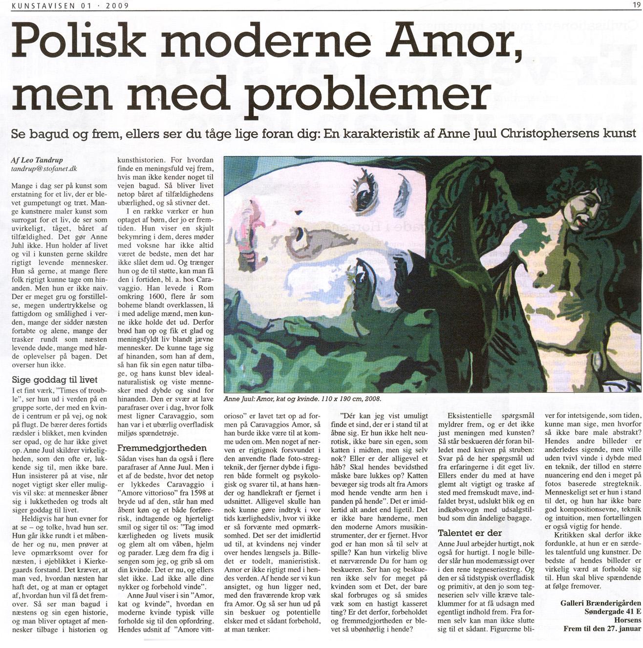 Polisk moderne Amor, men med problemer