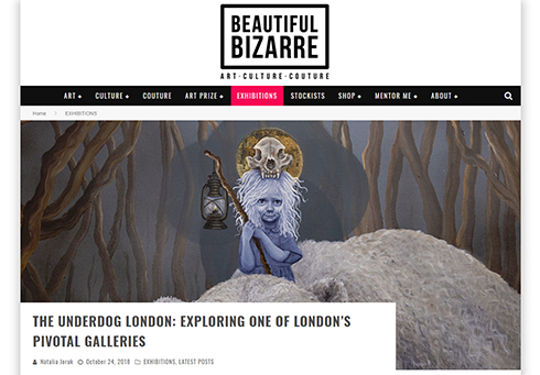 The Underdog London: Exploring one of London´s pivotal galleries