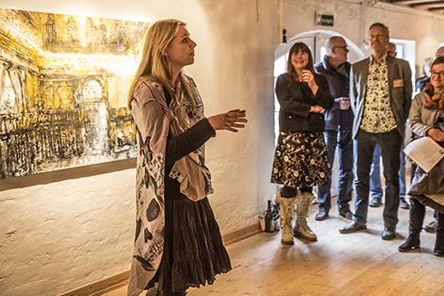 Anne Juul Christophersens udstillinger